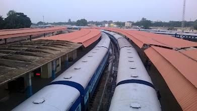 Photo: vlaky jsou tady fakt dlouhý