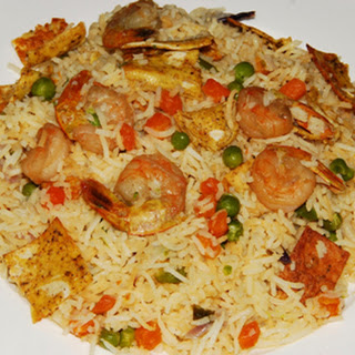 Prawn Fried Rice.