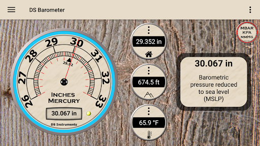DS Barometer - Altimeter and Weather Information 3.73 screenshots 2