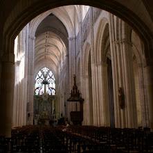Photo: Im 13. Jahrhundert wurde das Mittelschiff errichtet