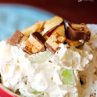 Snickers Salad.