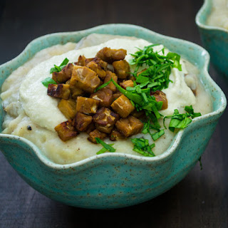 Vegan Loaded Baked Potato Soup
