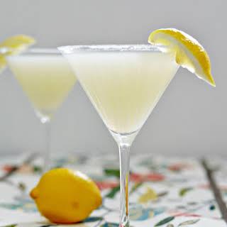 Sparkling Lemon Drop - A Cocktail.