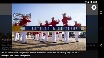 Screenshot of The Dallas Morning News