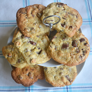 Chunky Chocolate and Hazelnut Cookies Recipe