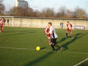 Photo: 02/01/12 v Dulwich Hamlet (Isthmian League Div 1 South) 1-1 - contributed by Gyles Basey-Fisher