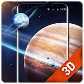 Solar live wallpaper galaxy Space
