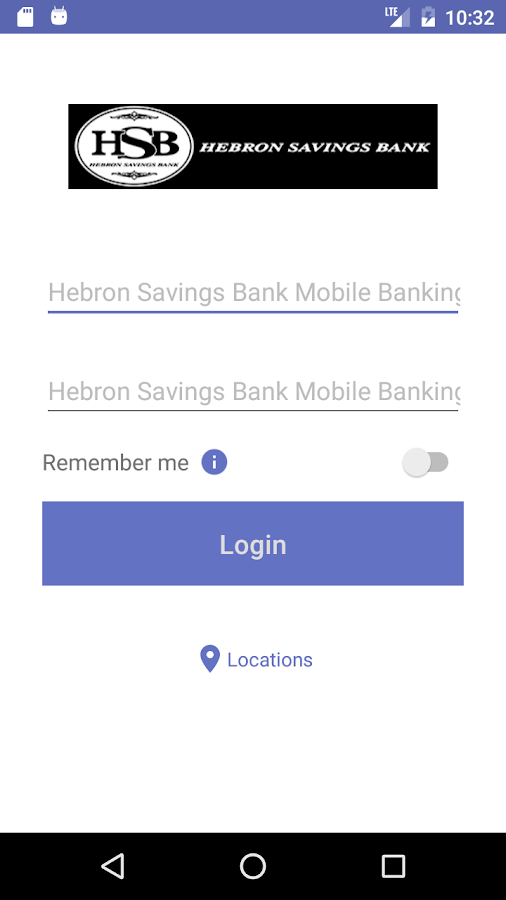Hebron Savings Bank Mobile- screenshot