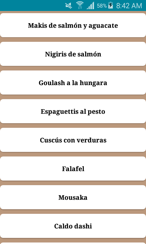 Cocina internacional- screenshot