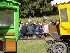 Photo: Les chars à Denis / Die Wagen von Denis
