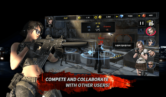 Idle Soldier -  Zombie Shooter PvP Clicker Screenshot