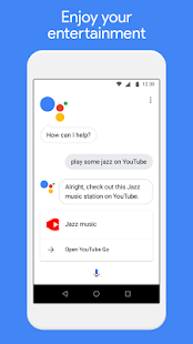 Google Assistant Go Screenshot
