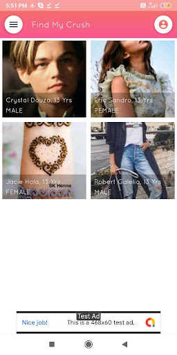 Find My Crush - Online dating , Find, Chat , Meet 4.5 screenshots 2