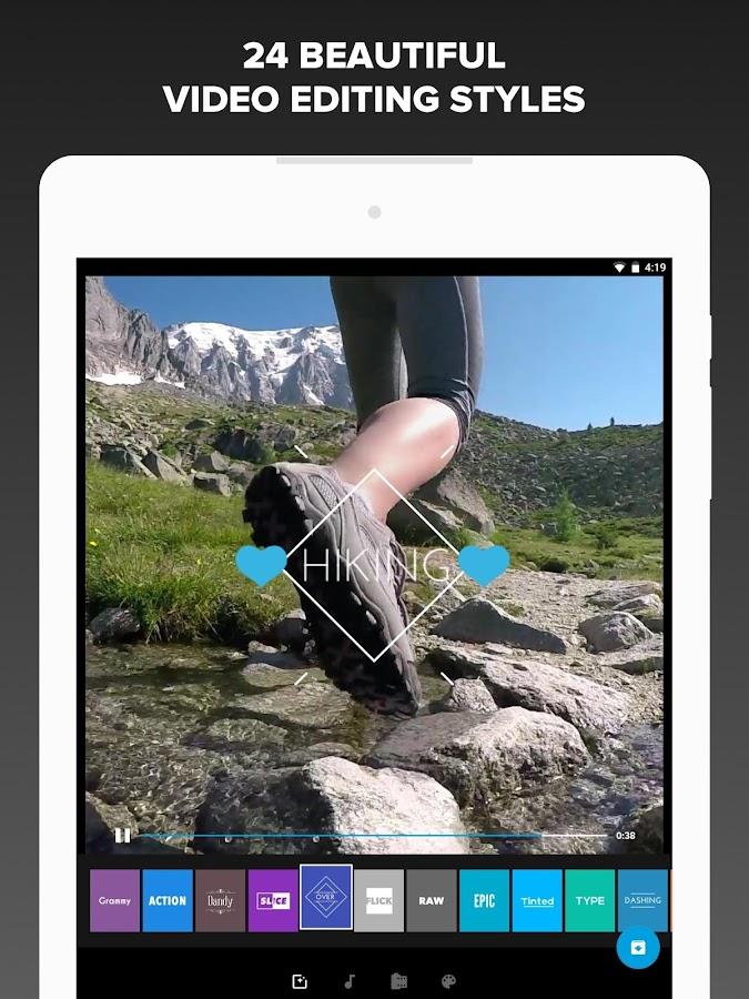 Quik - Free Video Editor – zrzut ekranu