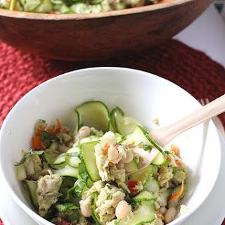 Healthy Tuna Noodle Salad.
