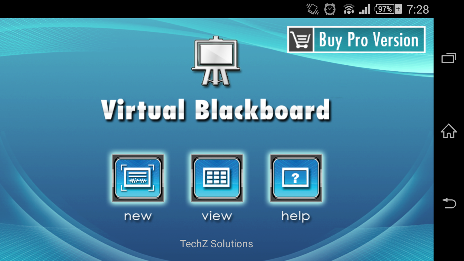 Virtual Blackboard- screenshot