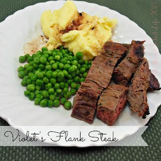 Violet's Flank Steak.