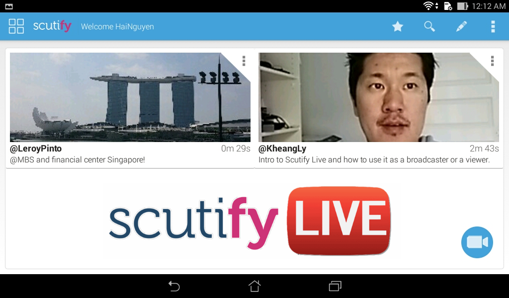Scutify - Tablet- screenshot