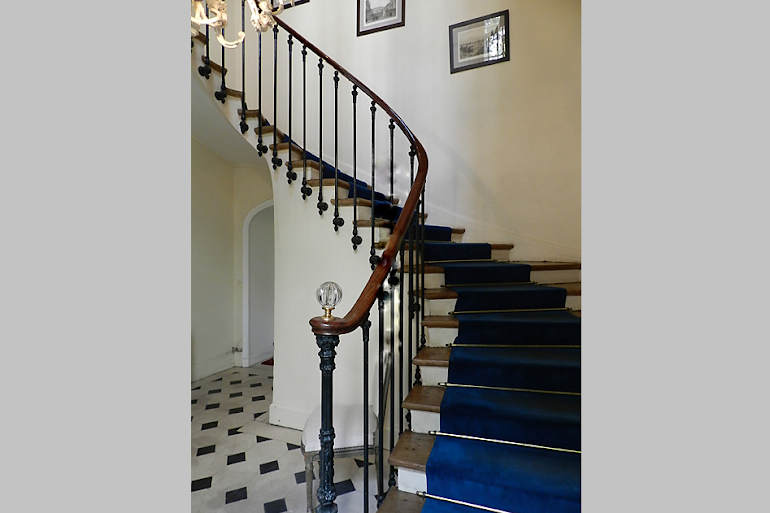 Stairs at Rue des Ursulines Serviced Apartment, Latin Quarter
