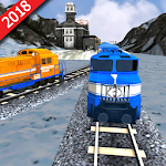 Train Racing 3D-2018 Icon