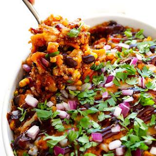 BBQ Chicken Quinoa Casserole.