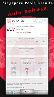 Singapore Pools Toto 4D Result - AppRecs