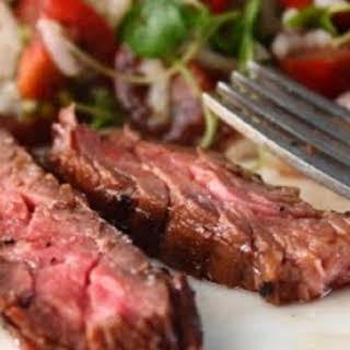 Marsala Marinated Skirt Steak.