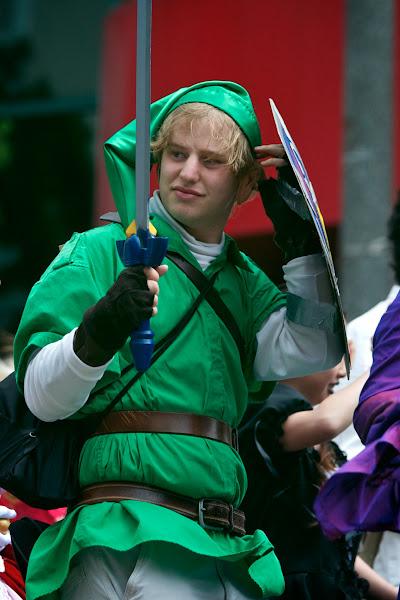 "Photo: Andy Sampberg IS Link of Hyrule IN ""The Legend of Zelda."""