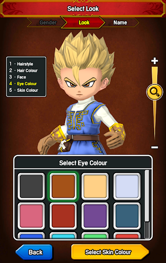 DRAGON QUEST OF THE STARS screenshot 1