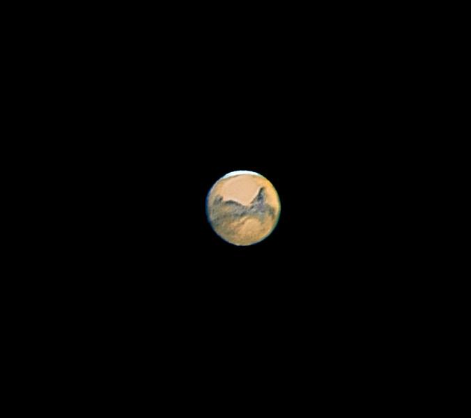 Photo: Mars on nov 11 2005