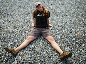 Photo: Stephanie in the parking lot