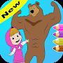 Masha & Michka - Coloring Book for Maisha and Bear