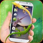 Lucertola sopra Telefono scherzi 3D: Geco Scherzo icon