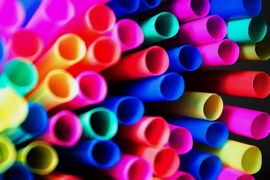 Abstract  by Robert Pracek - Abstract Patterns ( abstract, color, pwclines, lines, pracek, straws )