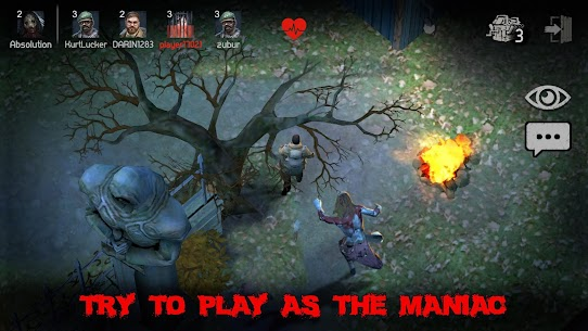 Horrorfield Mod Apk 1.2.11 [Map Hack/Freeze + Full Unlocked] 5