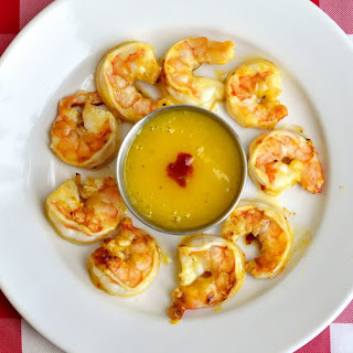 Spicy Mango Orange Grilled Shrimp