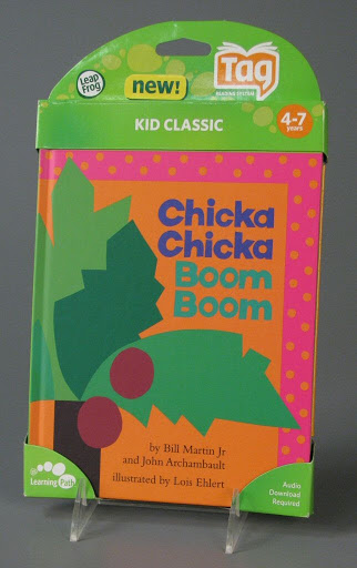 Book | electronic game:LeapFrog Tag Reading System: Chicka Chicka Boom Boom