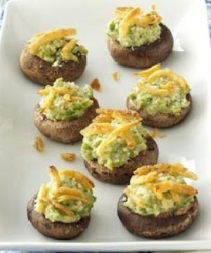 Green Bean Casserole Stuffed Mushrooms Recipe