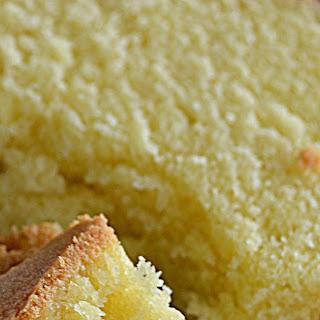 Southern Pound Cake.