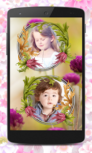 Flower Couple Collage Frames screenshot 2