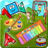 Kids Piano and Color Book icon