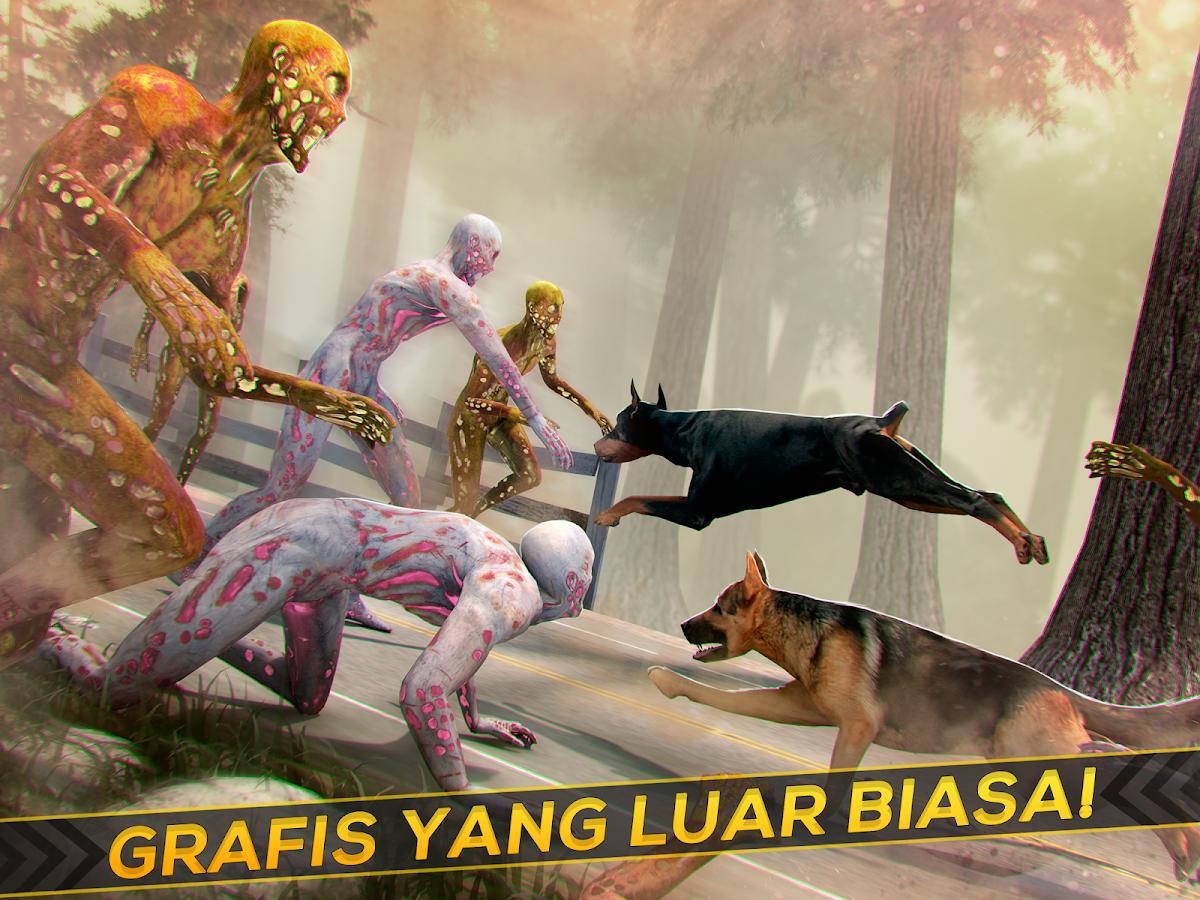 Anjing Zombie Simulator Gratis Apl Android Di Google Play