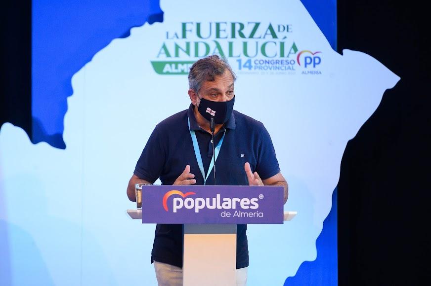 Intervención del vicepresidente de Diputación, Ángel Escobar.