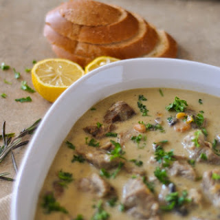 Veal Fricassee (White Veal Stew)