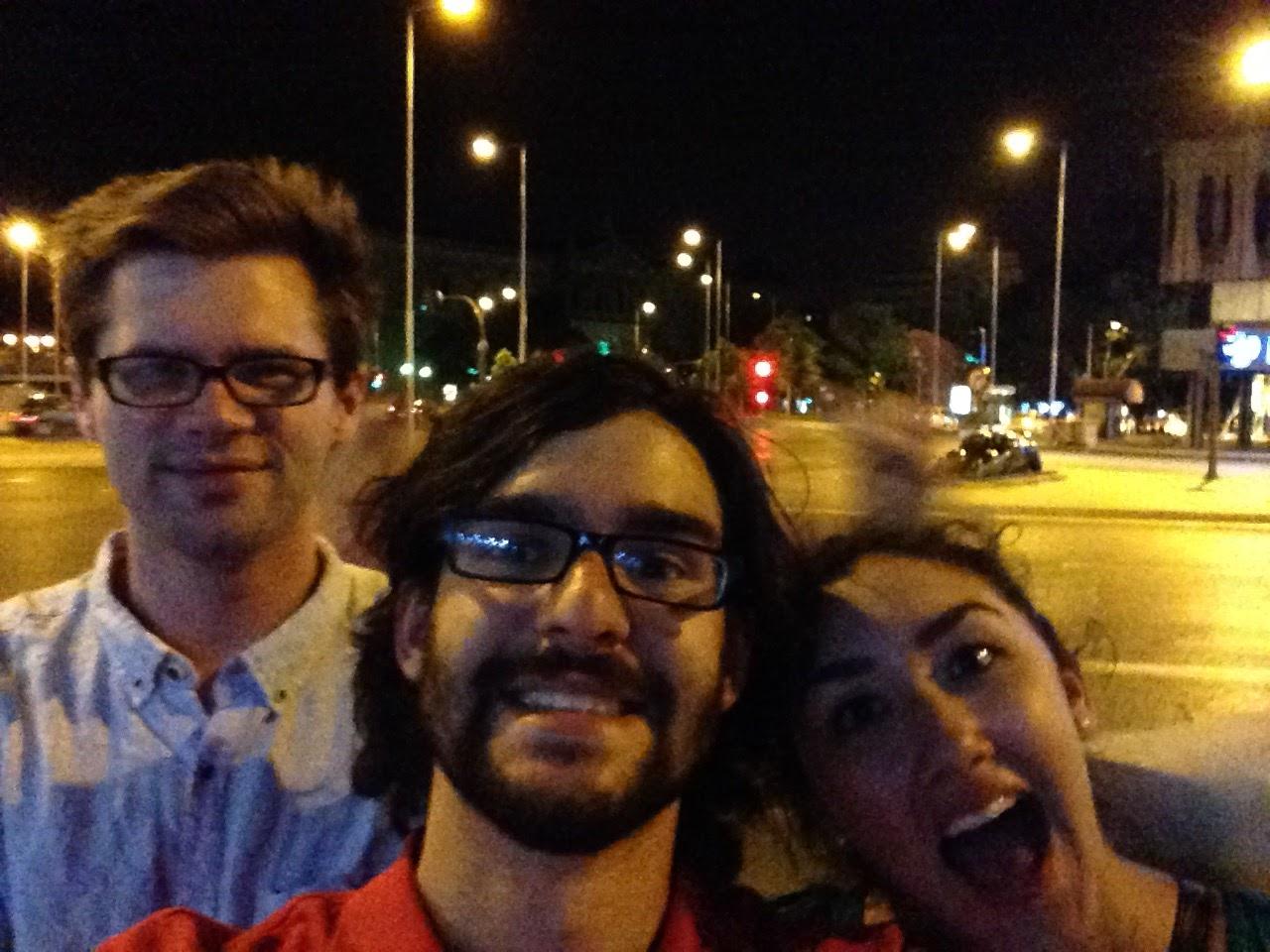 Photo: Evan, Gabby and Gabe (Haley Group) exploring Madrid