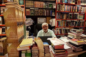 Photo: Mukhlis, Tafseer bookstore, Hawlêr (Erbil), South Kurdistan, 2013