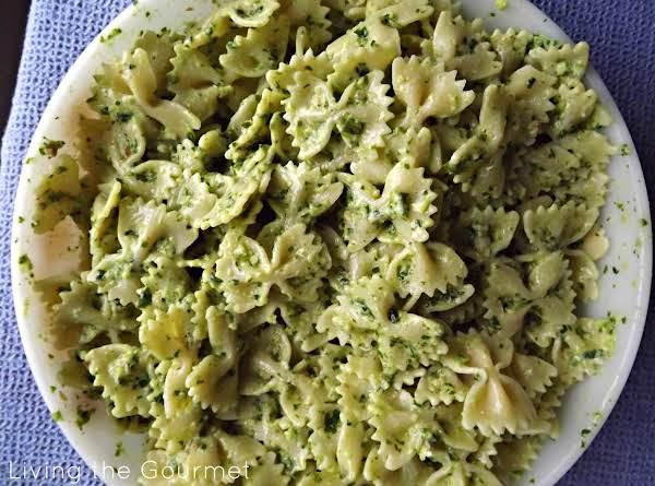 Pesto & Yogurt Pasta Recipe