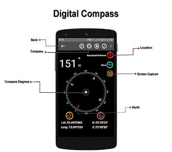 Gyro Compass & GPS Route Navigation Live 2019 1.0