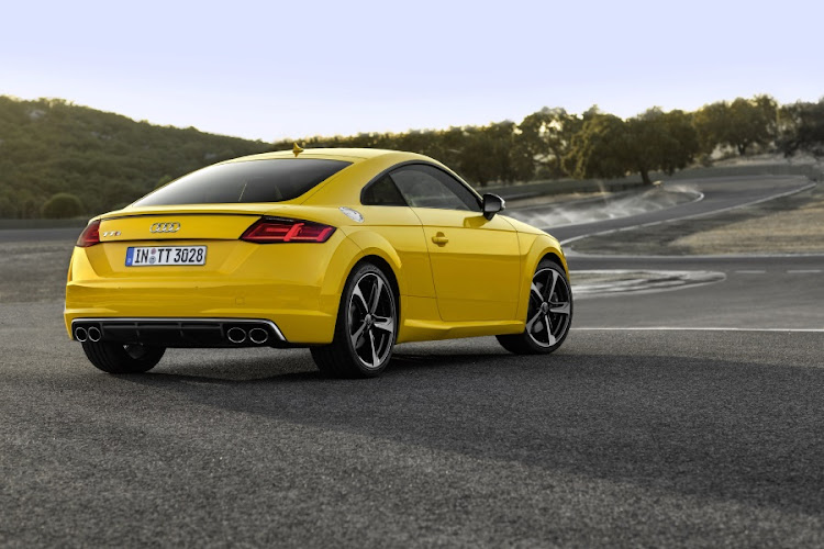 Audi TTS sports car. Picture: QUICKPIC