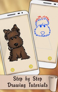 Draw Dogs and Puppies - náhled